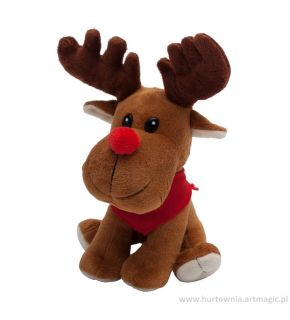 Maskotka Happy Reindeer - R73946